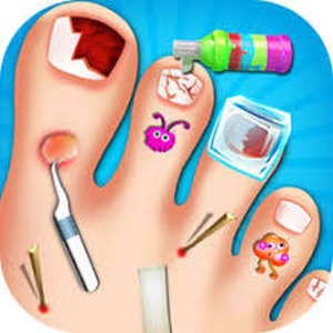 Nail Doctor – Give the little girl a medical treatment – Join Friv. land