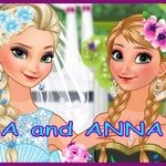 Anna & Elsa Make-up - An interesting makeup game