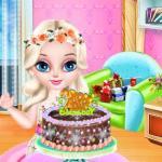 Baby Elsa Birthday Party
