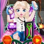 Baby Elsa Halloween Surgery
