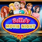 Belle's Movie Night