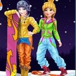 Elsa And Anna Winter Vacation