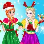 Elsa Make Christmas Gift