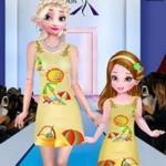 Elsa Parent Child Outfit Collection