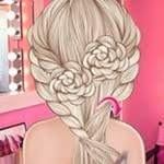 Elsa Wedding Hair Design