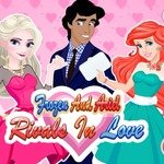 Frozen And Ariel Rivals In Love