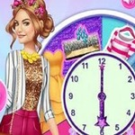 Lucy Hale Round The Clock Fashionista