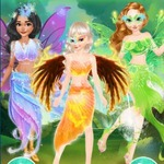 Princesses Fairies Dress