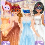 Princesses Masquerade Party