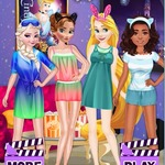 Princesses Night Movie Party