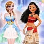 Princesses Winter Make Up