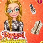 Rapunzel Autumn Fashion Story